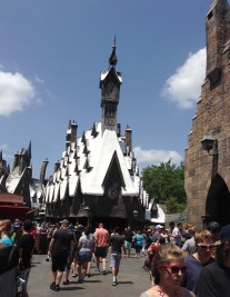 View of Hogsmeade